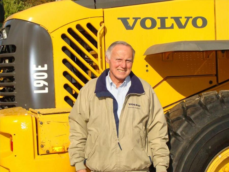 Jim White is retiring after 45 years with Tyler Equipment.