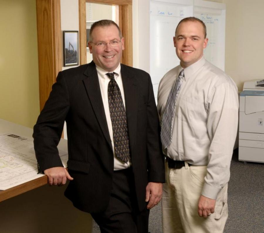 Founder Bill French Sr. (L), and son Bill French Jr.
