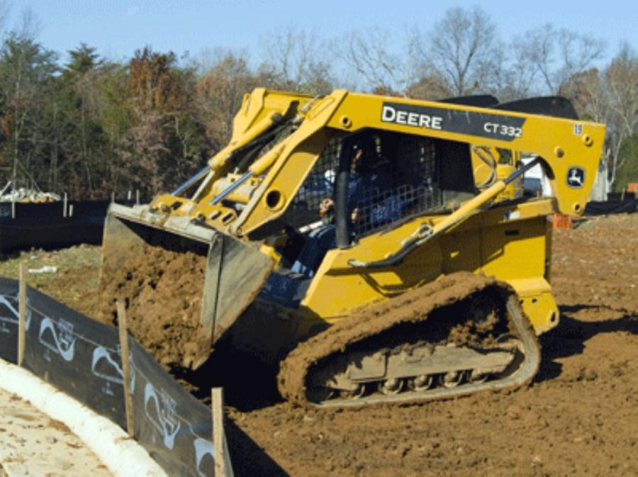 RC Hawkins Uses Compact Fleet For Erosion Control