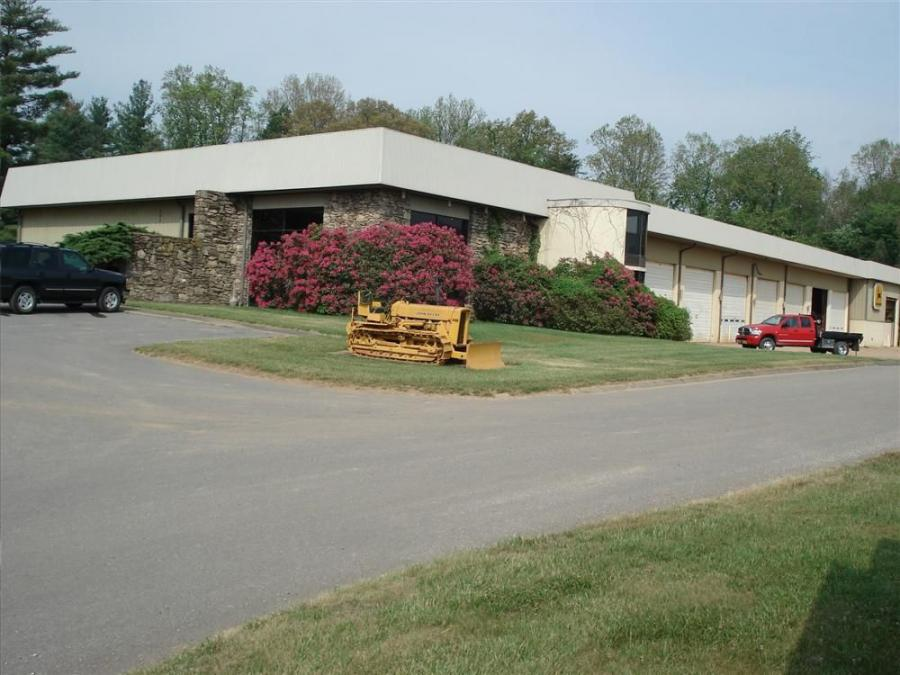 James River Equipment's newest branch is located on Bruce Road in Asheville, N.C.