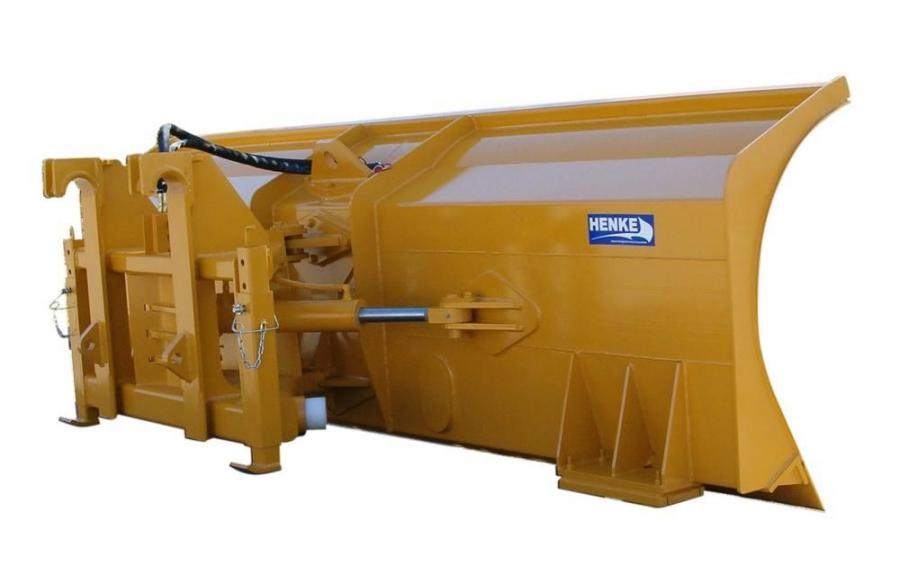 Engineered for mounting on either a loader or motorgrader, the severe duty dozer blade incorporates the structural strength needed for summer dozing with the curvature required for severe snow plowing.