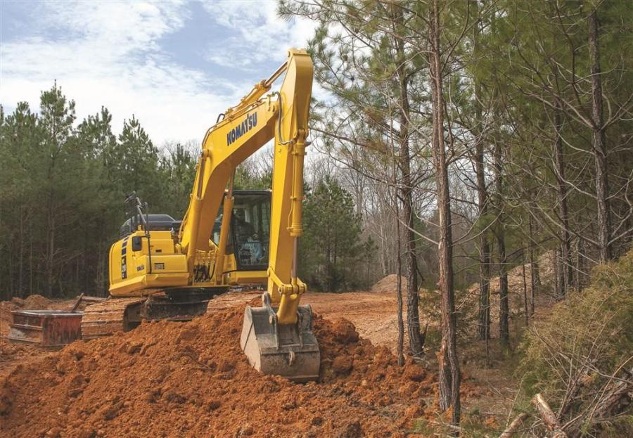 Komatsu America Corp. has introduced the new PC210LC-11 hydraulic excavator, a versatile, all-purpose construction machine.