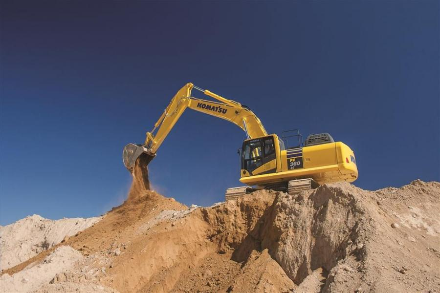 All major components on the new PC360LC-11 including the engine, hydraulic pumps, motors, and valves are exclusively designed and produced by Komatsu.