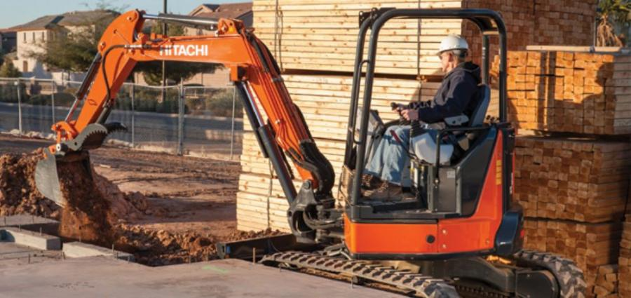 The ZX35U-5 is one of the newest compact excavators to join the Zaxis Dash 5 lineup by Hitachi.