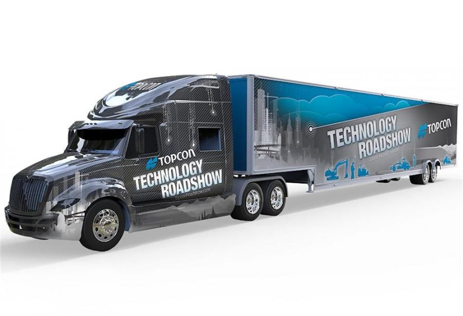 The Technology Roadshow will cover North America, traveling more than 23,000 miles in six months.