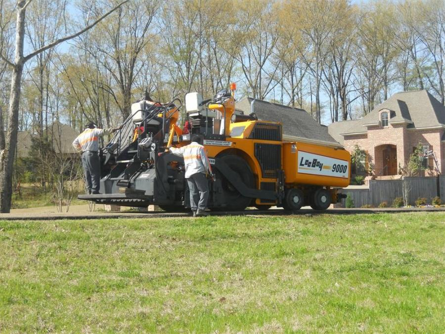 When the road department of Madison County, Miss., needed an upgrade to its aging asphalt paver in 2010, it became the first owners in the country of the new LeeBoy 9000 rubber-tire paver.