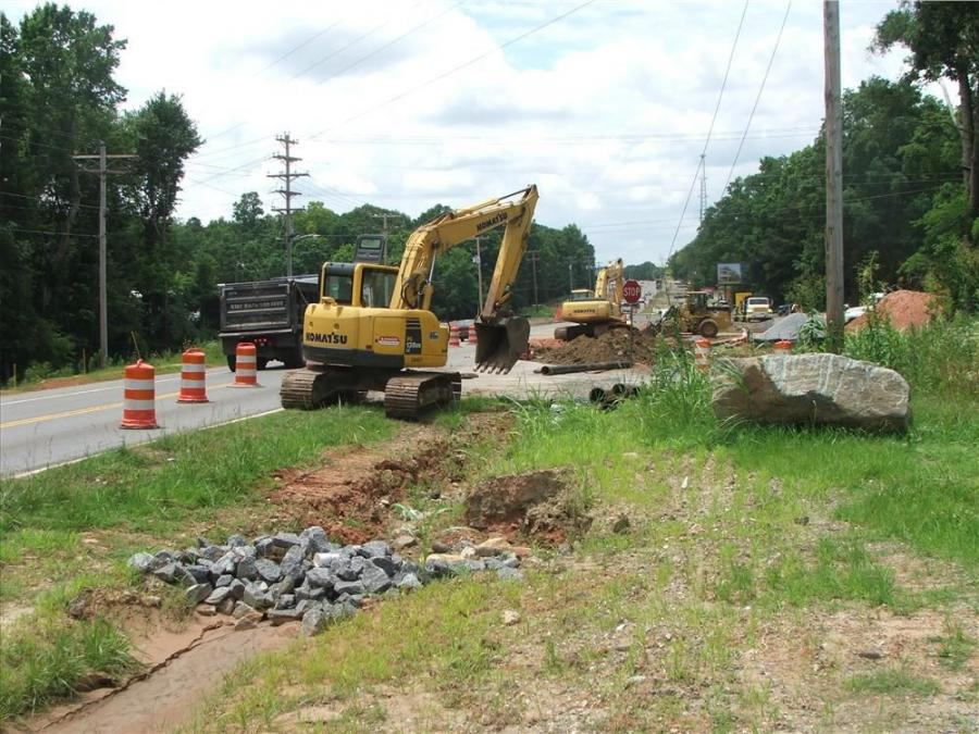 The total cost of the highway 121 project is $6.6 million.