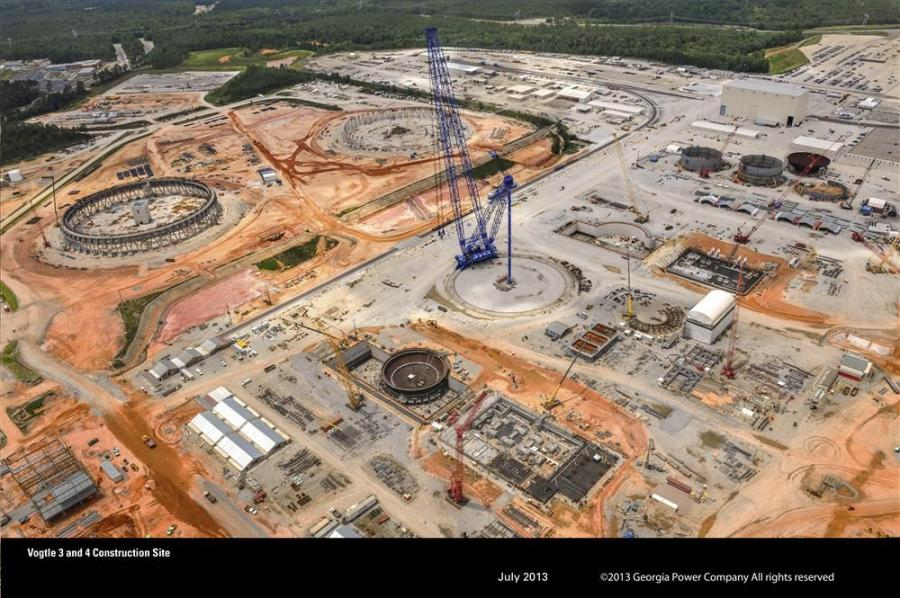 Georgia Power Company Photo The additions of Vogtle Units 3 and 4 will reportedly create roughly 5,000 onsite construction jobs and 800 permanent jobs, and will allow the Vogtle site to generate more electricity than any other U.S. nuclear energy facilit