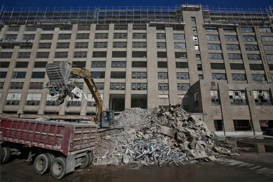 Originally constructed as a Sears mail-order processing warehouse and retail store, the historic Crosstown Concourse building is undergoing a dramatic renovation in downtown Memphis, Tenn.