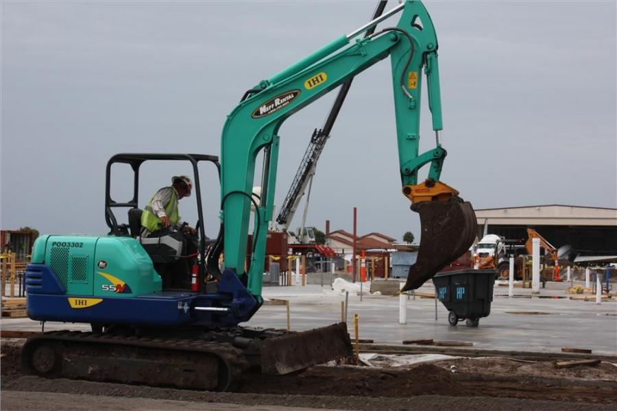 Site preparation for the project began in January 2012, and the beneficial occupancy date is scheduled for January 2014.