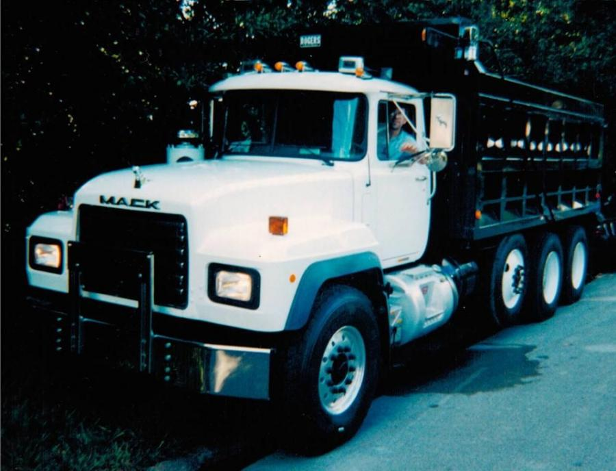 Husein Hrustic bought his first dump truck, a Mack, in 2003 intent on building a family business his young sons could one day take over and help grow.