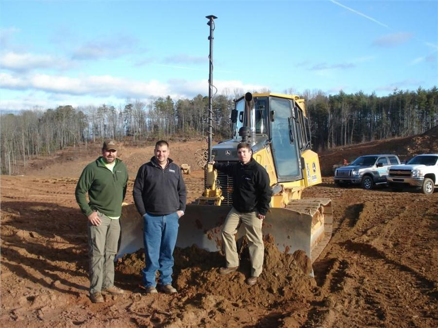 Grading Firm Uses Topcon Technology To Relocate Road
