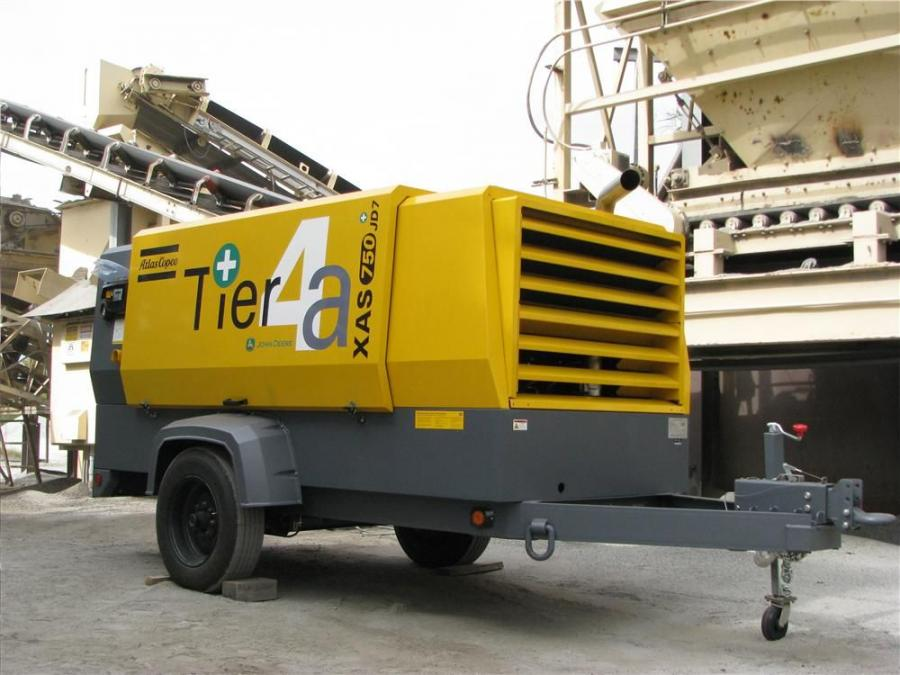 "The same Atlas Copco XAS 750 JD7 T4a portable air compressor that was on display at ConExpo in Las Vegas was stationed at Augusta Asphalt in Grovetown, Ga., for some ""real hour"" testing."