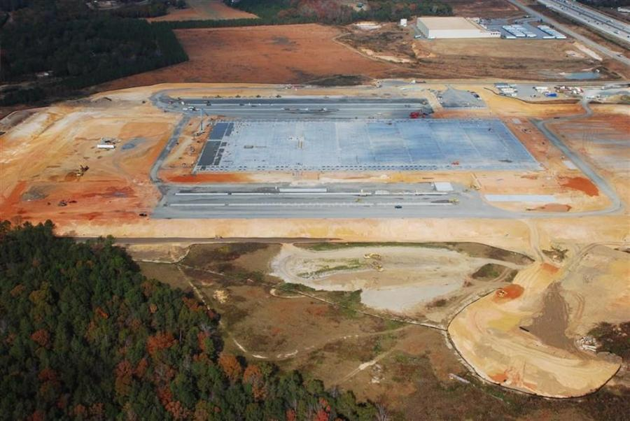 Work on the site began in July 2012, and the structure should be completed by summer. H&M Construction Company, headquartered in Jackson, Tenn., serves as the general contractor.