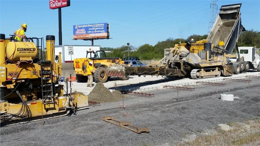 A $50 million expansion project in north Nashville remains on track, as crews continue working on Interstate 65 from Trinity Lane to Dickerson Pike.