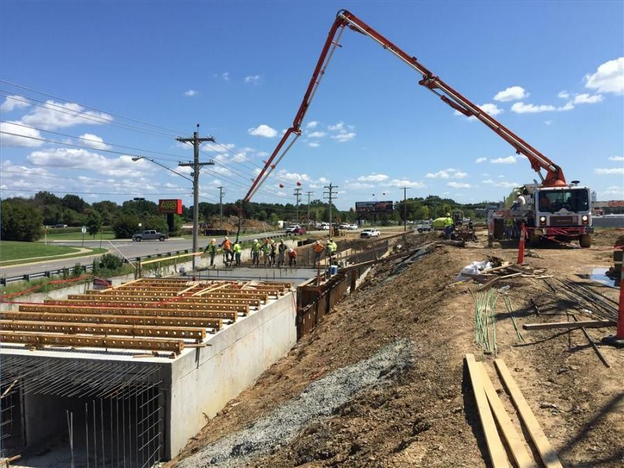 """Mobley Contractors Inc.? photo """"Project one is the box culvert, while project two is the overpass and elevated roundabout at Amity and Elsinger,"""" said Jack Branscum, city of Conway, street and engineering department."""