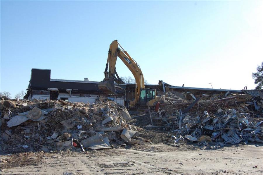 Virginia Beach photo The Bow Creek Community Recreation Center and small neighborhood park have been demolished.