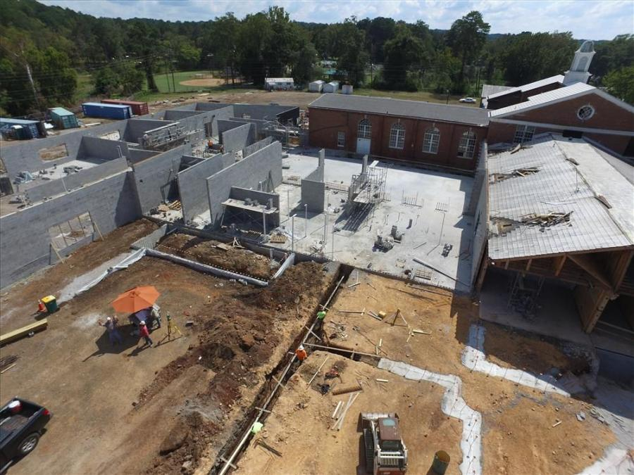 Near Birmingham, Ala., construction crews are working on two major school projects that will further unite a community. Magnolia Elementary School and Cahaba Elementary are both scheduled to open next year.
