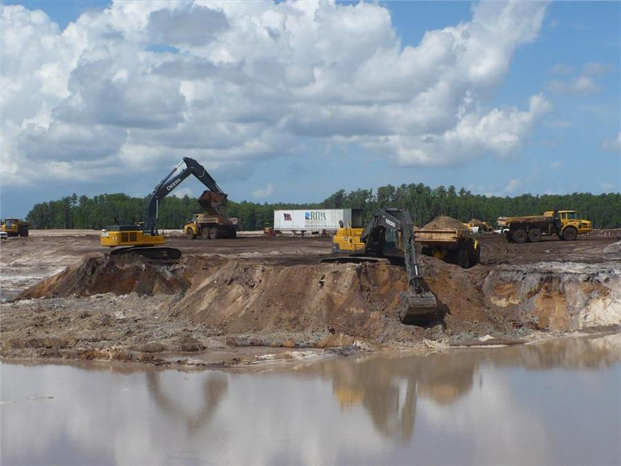 A master plan community known as Starkey Ranch is beginning to take shape just north of Tampa, Fla., in Pasco County.