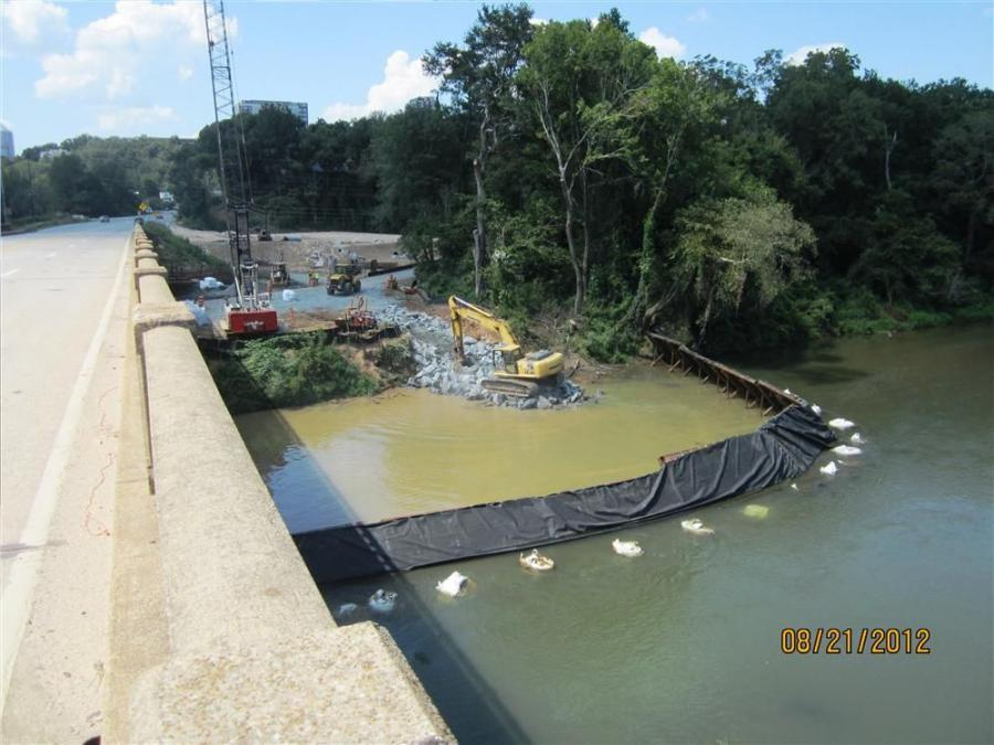 Part one of the project is the $12.6 million replacement of a bridge on U.S. 41 over the Chattahoochee River.