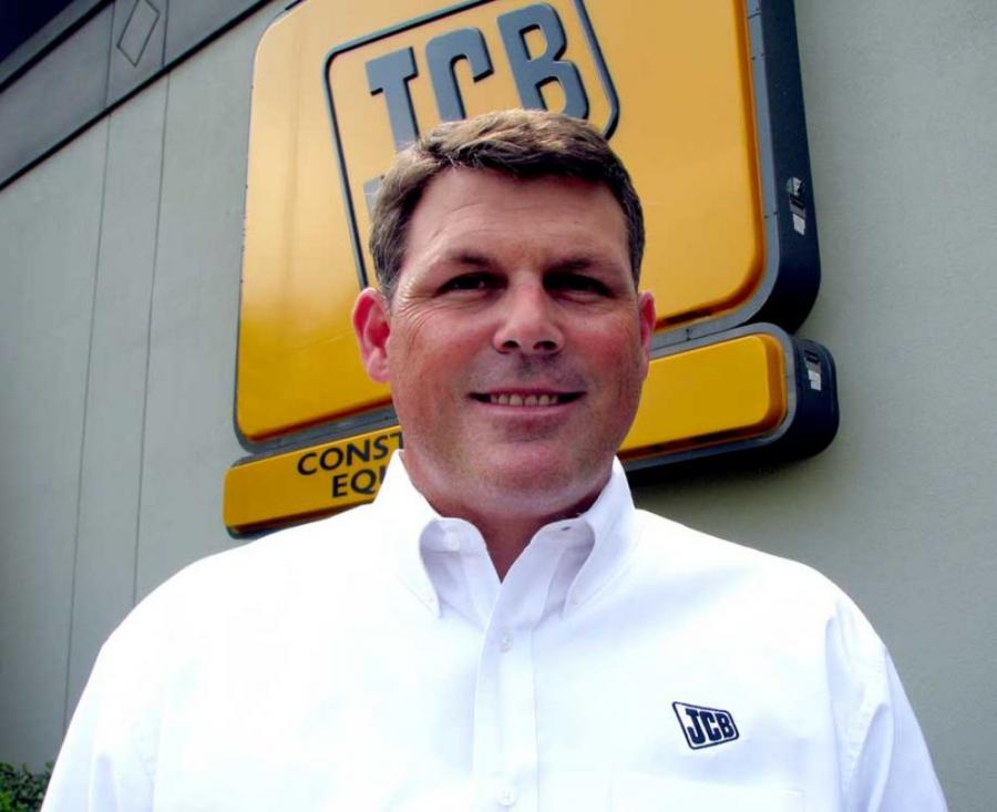 Scott Place recently joined Atlanta JCB as the company's new sales manager.