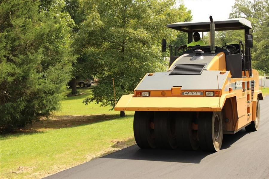 Whether repaving existing county roads or building new highways, C&H Paving has found the right combination of compacting equipment with two double-drum vibratory rollers and a pneumatic tire roller.