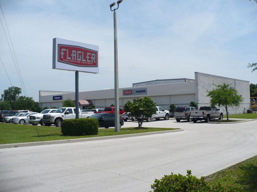 Flagler Construction's new facility is located at 9601 Boggy Creek Road, on the south side of Orlando, Fla.