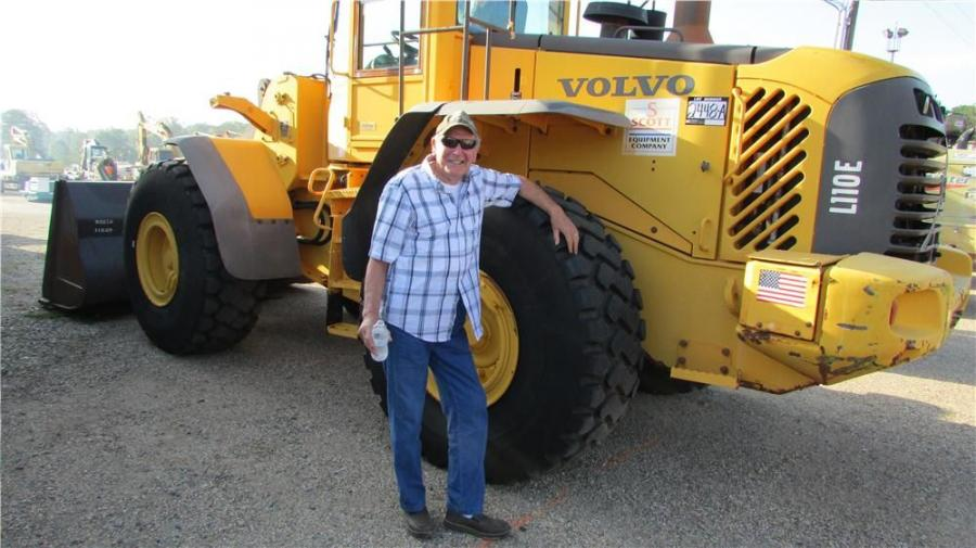 "Abraham Ton of ""No Name Farms"" in Magnolia, Miss., wants to bid on this Volvo L110 E."