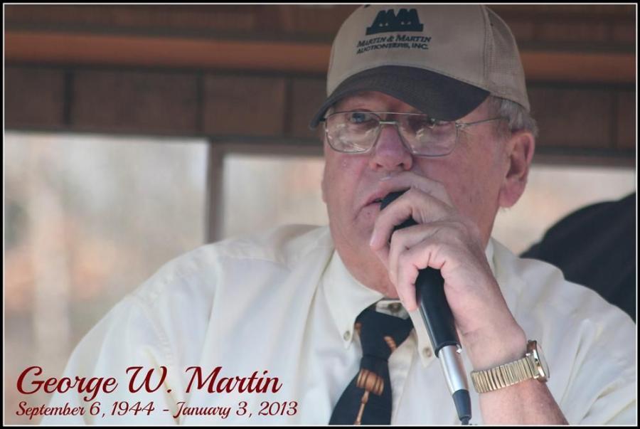 George Martin, founder of Martin & Martin Auctioneers.