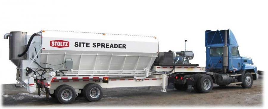 Stoltz Site Spreaders of Morgantown, Pa., and Carolina Trailer of Landrum, S.C., put together the winning bid for a new cement spreader design specified by the South Carolina Department of Transportation.
