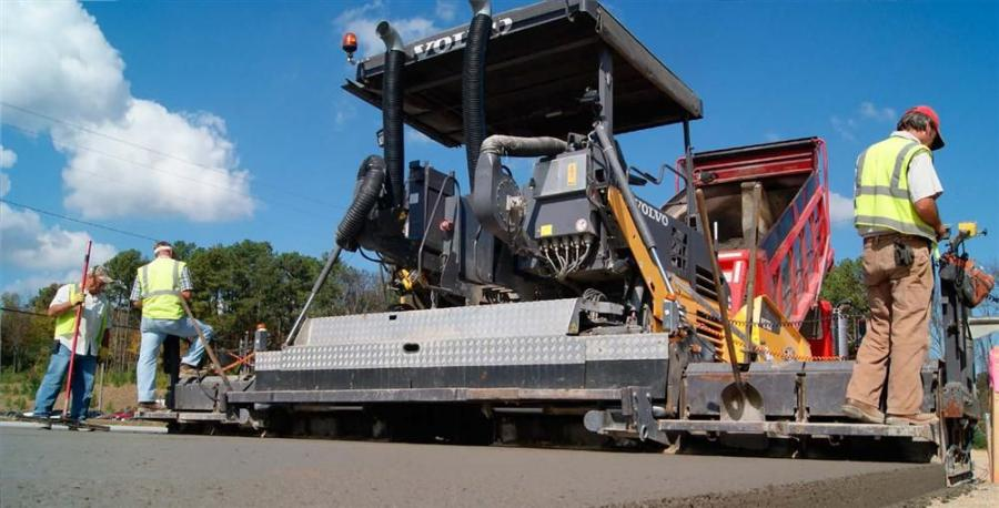 More than 90 percent of Robert Smith Inc.'s workload now consists of RCC work — jobs that the company completes with its Volvo Construction Equipment (Volvo CE) ABG7820 paver.