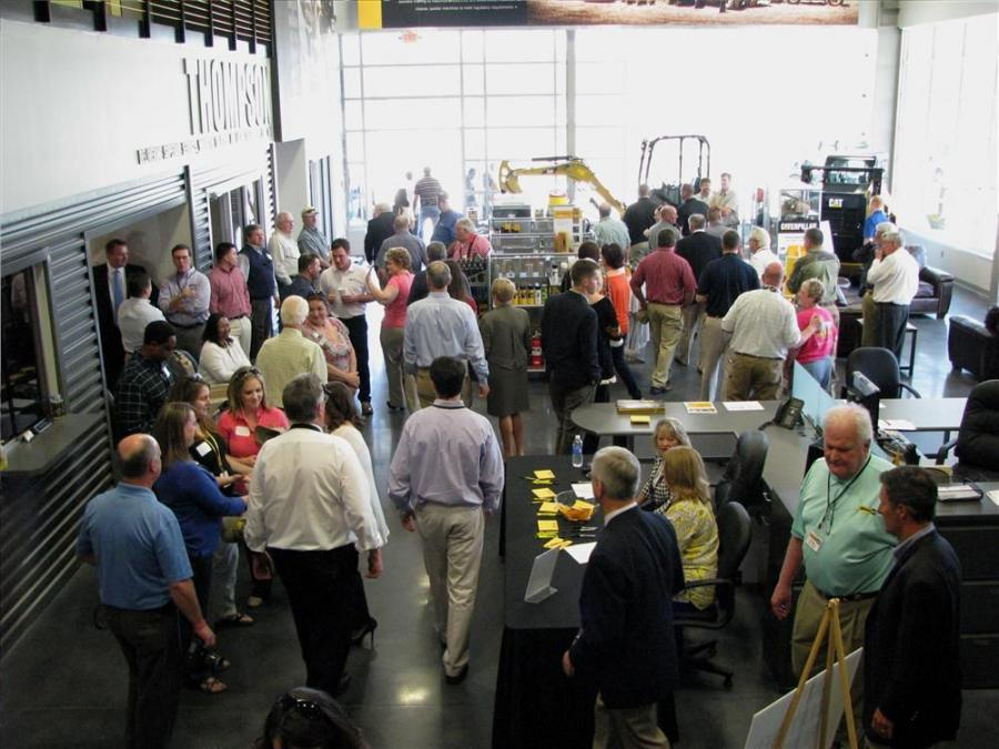 Approximately 600 guests made their way through the doors of Thompson Machinery's new Tupelo, Miss., facility on March 25 for an official ribbon cutting ceremony followed by an open house.