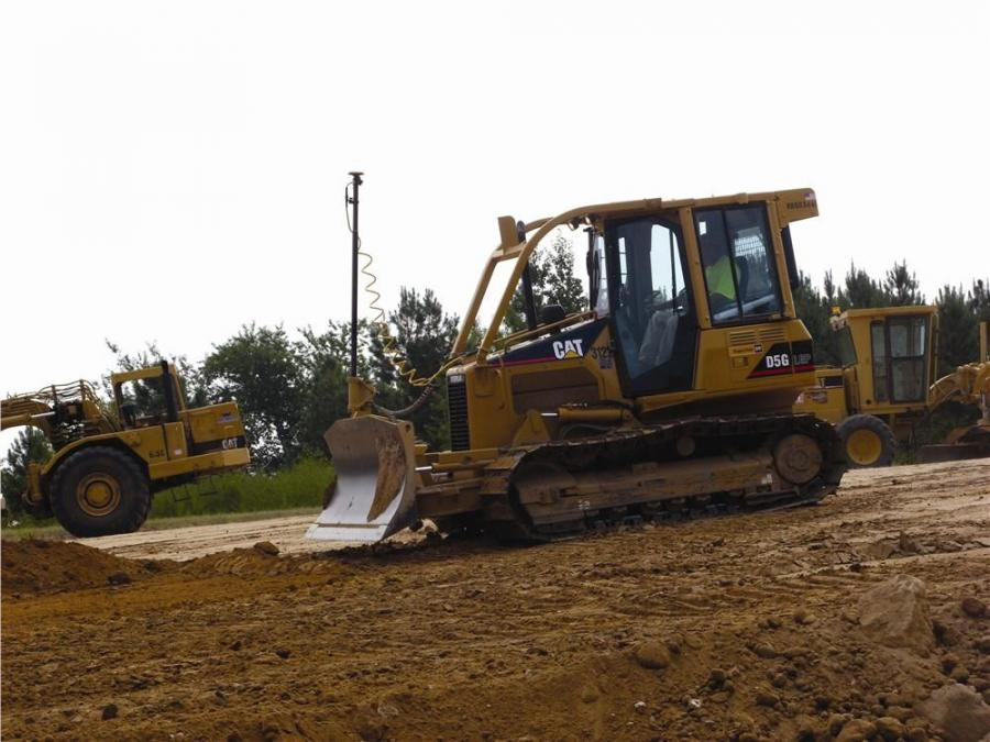 Wellons Construction is using Topcon 3D-MC2 systems on two Caterpillar dozers.