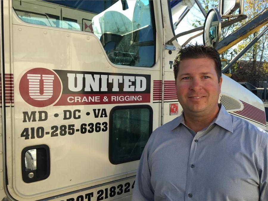 United Crane & Rigging announced the appointment of Joe Mirabile Jr. to the position of general manager.