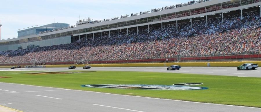 "Built more than half a century ago on the site of a Civil War-era plantation, the Charlotte Motor Speedway has become the ultimate sanctuary for motorsports entertainment in North America, evolving into ""The Greatest Place to See the Race."""