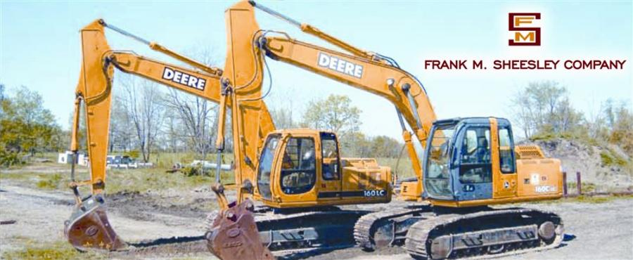 As the company winds up its operations after 103 years, Frank M. Sheesley Co. has tapped the Hunyady Auction Company to help sell much of its equipment and construction tools.