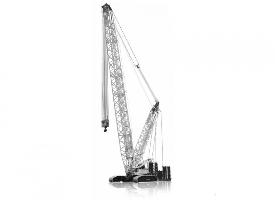 Similar to the incident reports of 2013 from China, the Terex CC 2500-1 lattice boom crawler crane is the crane model of choice for the copycat manufacturers.