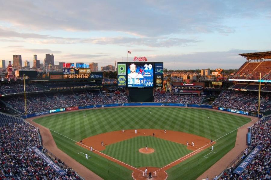 Turner Field opened as the 85,000-seat main stadium for the 1996 Olympics, hosting athletics as well as the opening and closing ceremonies.