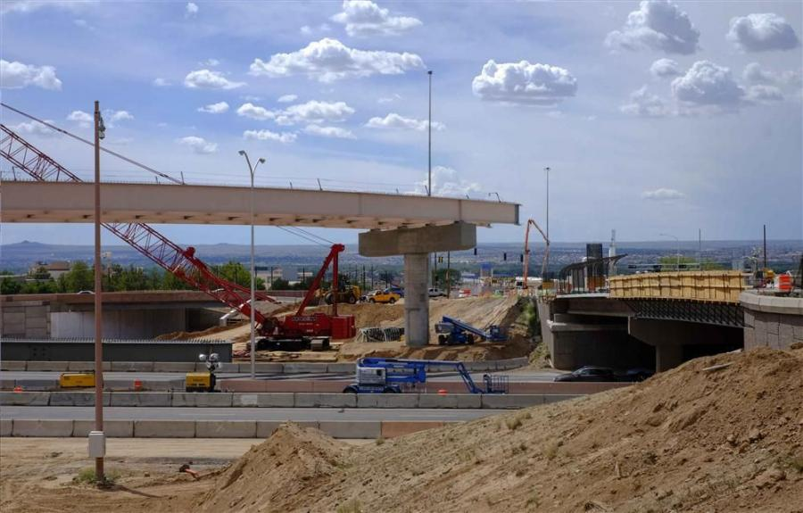 An original $350 million project cost was reduced to $93 million when the New Mexico Department of Transportation decided to focus on only immediate traffic needs in Albuquerque by increasing capacity to serve the next 20 years, according to Michael Smelk
