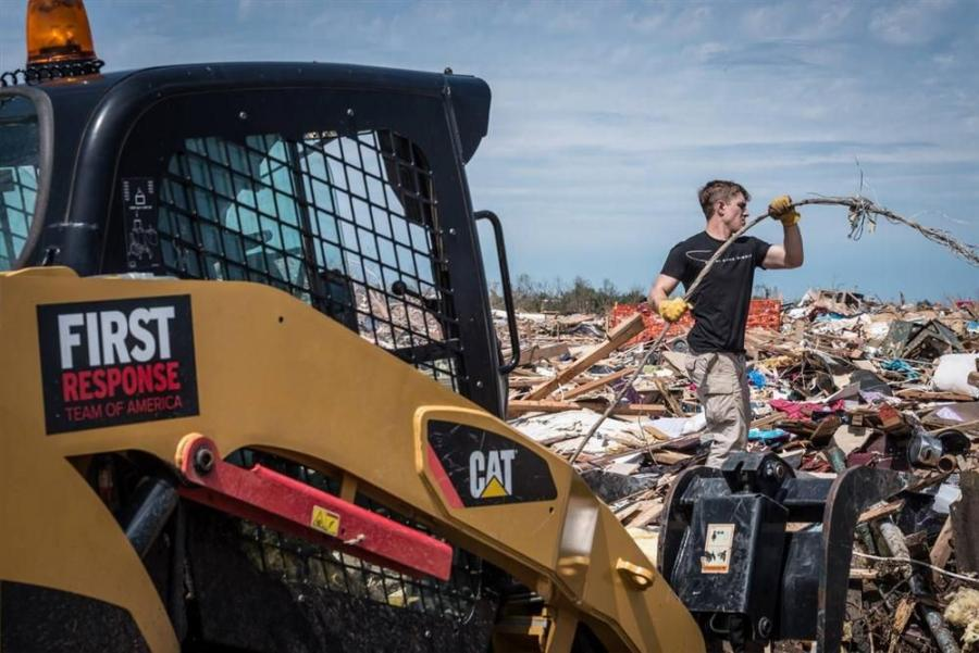 Weeks after the storm, the team has stayed with Moore, in an effort to help the town move toward recovery.