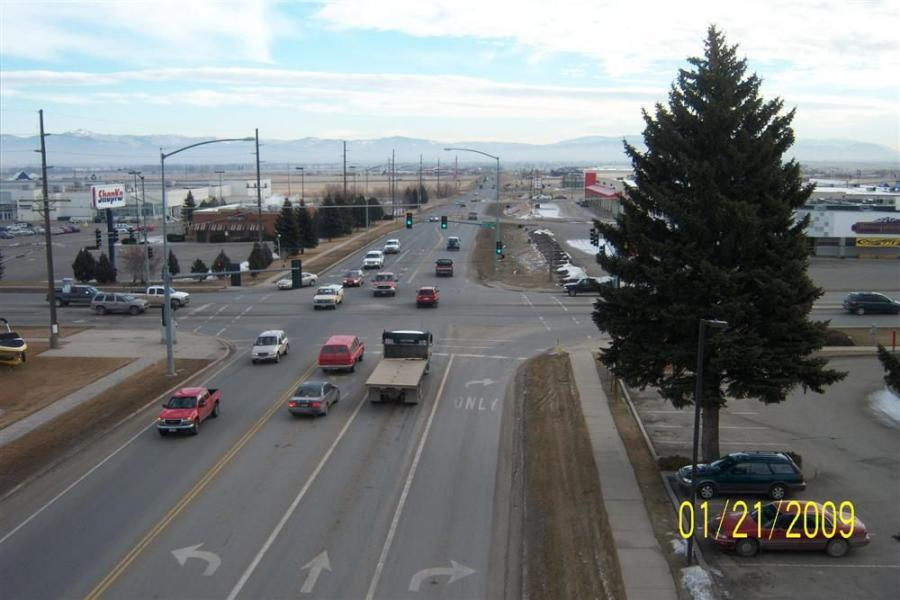 Cedar Street, in Helena, Mont., was a three-lane route before construction began in May to widen it to five lanes from Montana Avenue to Interstate 15. The Cedar Street improvements are the first phase of the three-part Custer Interchange project.