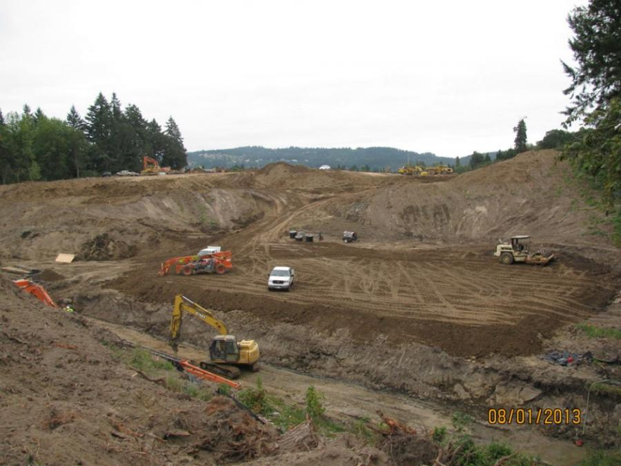 Work is underway on phase one of a major bypass project aimed at alleviating traffic on Highway 99W so visitors can enjoy the scenery without the traffic stress.