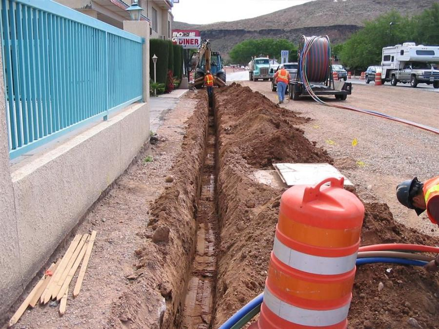 Hamilton Electric installed the ATMS conduits for fiber optic lines.