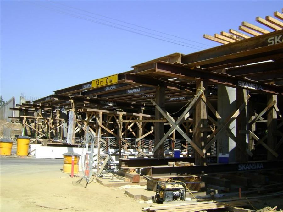 The widening of two bridges, along SR-60, were part of stage one construction.