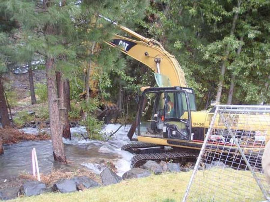 On Oct. 11, a landslide buried Washington state Route 410 and dammed the Naches River in the Nile Valley, east of Mount Rainier and west of Yakima, in the Cascade Mountains.