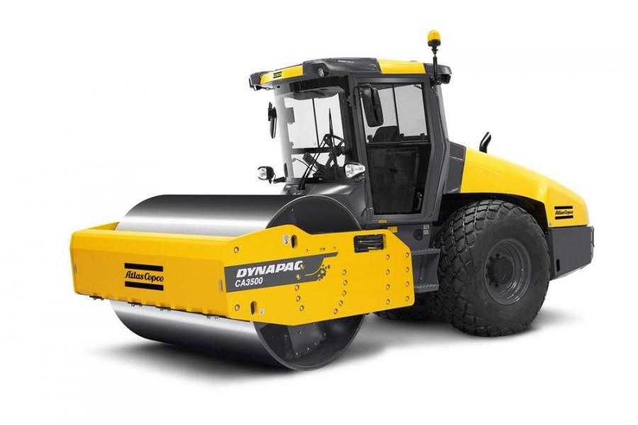Central Texas Equipment now carries the Atlas Copco Dynapac CA3500 soil roller as well as the full line of CA and CC soil rollers.