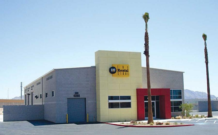 Cashman Equipment has opened a new Caterpillar rental store in the North Las Vegas area, located at 4380 Donovan Way.