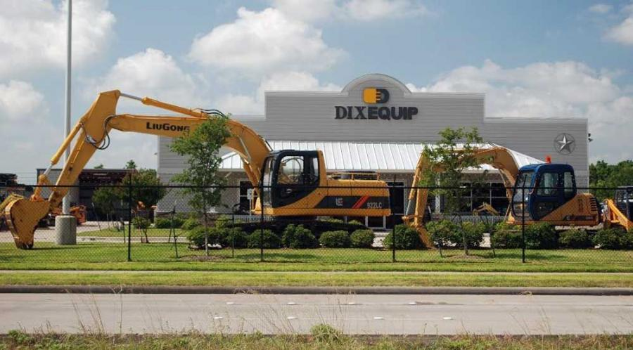 The Dixequip sales staff has been fully trained in the application and sales of LiuGong products and will provide prompt and professional parts and service support from its Houston headquarters.
