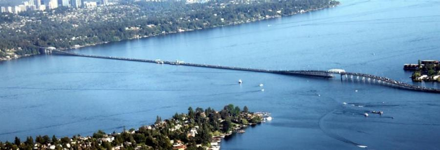 The Governor Albert D. Rosellini Bridge—Evergreen Point (formerly the Evergreen Point Floating Bridge, and commonly called the SR 520 Bridge or 520 Bridge) is the longest floating bridge on Earth at 7,497 ft.