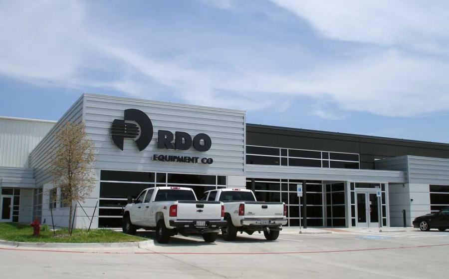 RDO Equipment's new 38,000 sq.-ft. facility is located at the corner of Mark IV Parkway and NE Loop 820 in Fort Worth.